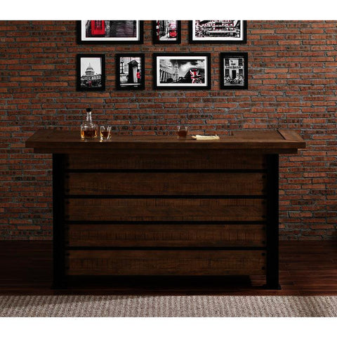 American Heritage Gateway Reclaimed Wood Bar