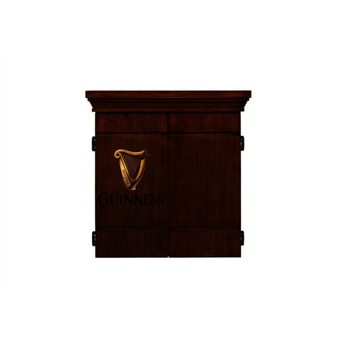American Heritage Guinness Dart Board Cabinet Set