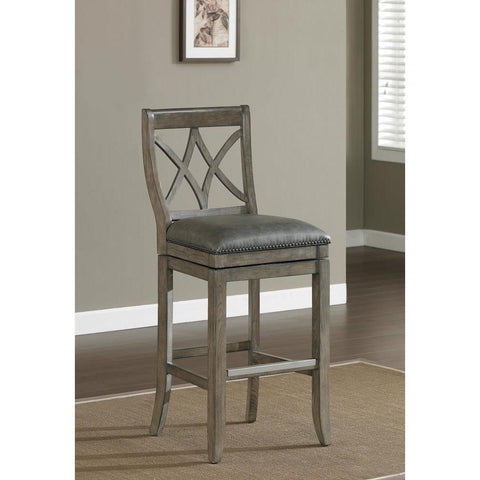 American Heritage Hadley Extra Tall Stool in Glacier