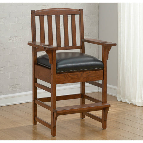 American Heritage King Chair in Sable