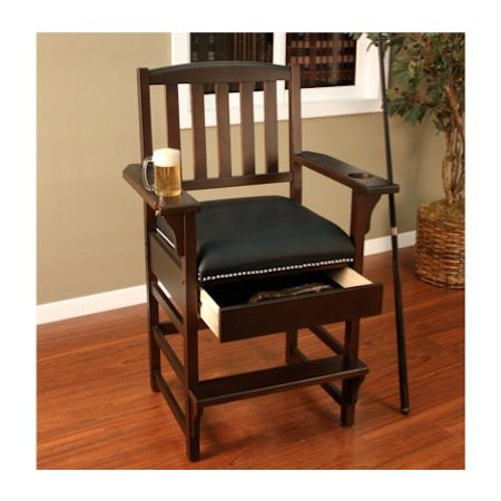 American Heritage King Chair in Vintage Oak
