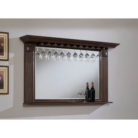 American Heritage Roma Mirror in Pewter