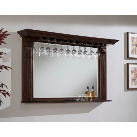 American Heritage Roma Mirror in Sable