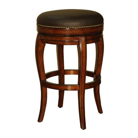 American Heritage Santos Collection Bar Height Backless Barstool