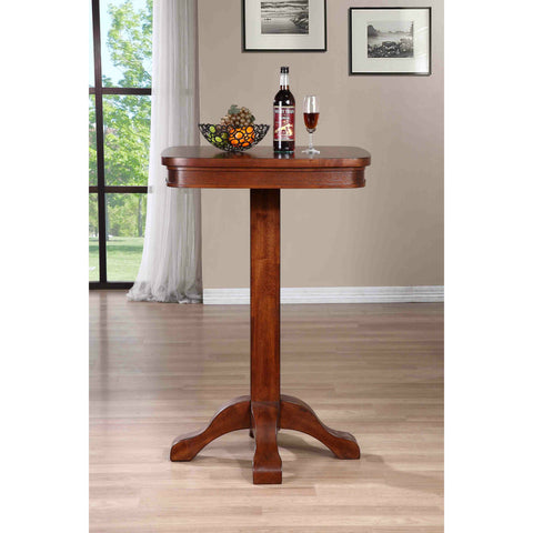 American Heritage Sarsetta Pub Table in Sable