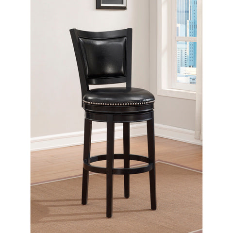American Heritage Shae Stool in Black