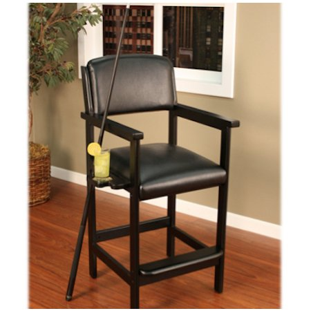 American Heritage Spectator Chair in Black