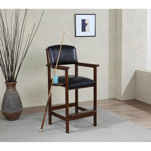 American Heritage Spectator Chair in Suede
