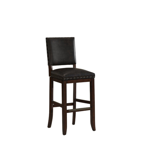 American Heritage Sutton Collection Counter Height Barstool in Suede