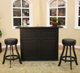 American Heritage Trenton Bar Set in Black