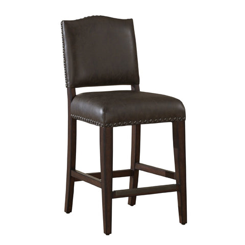 American Heritage Worthington Collection Counter Height Barstool in Suede