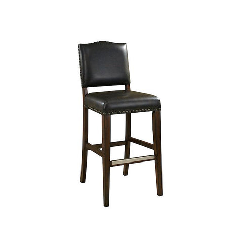 American Heritage Worthington Stool in Suede