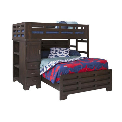 American Woodcrafters Billings Twin Over Full Loft Bed Beyond Stores
