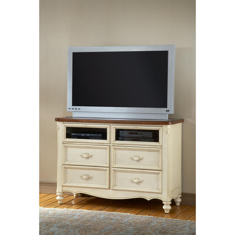 American Woodcrafters Chateau Entertainment Furniture