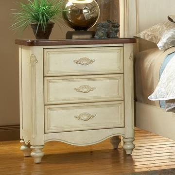 American Woodcrafters Chateau Night Stand