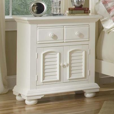 American Woodcrafters Cottage Traditions 6510 Large Nightstand