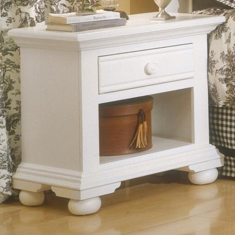 American Woodcrafters Cottage Traditions 6510 Small Nightstand