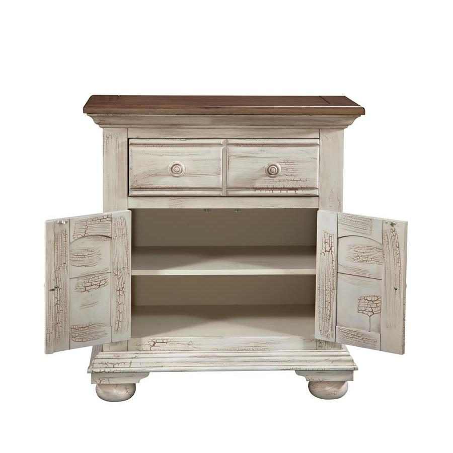 Sensational American Woodcrafters Cottage Traditions Large Nightstand Best Image Libraries Counlowcountryjoecom