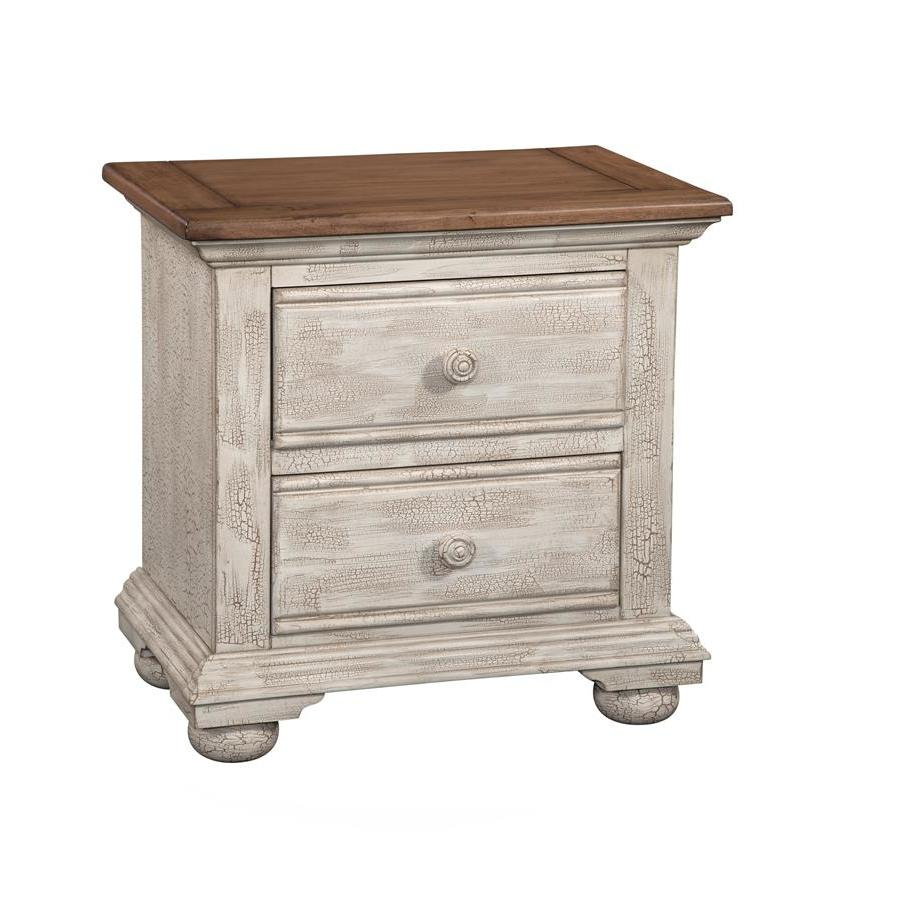 Prime American Woodcrafters Cottage Traditions Two Drawer Nightstand Best Image Libraries Counlowcountryjoecom