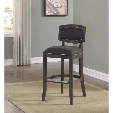American Woodcrafters Darcy Barstool in Brown