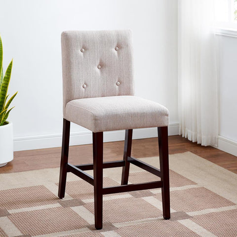American Woodcrafters Evie Ivory Stool