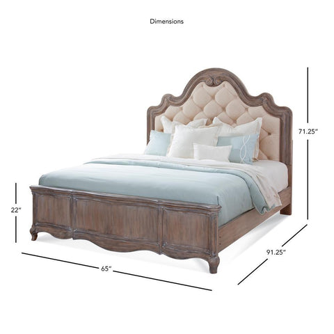 American Woodcrafters Genoa Bed