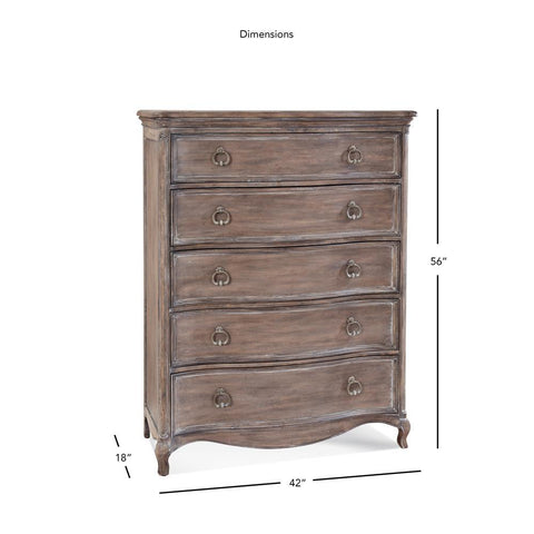 American Woodcrafters Genoa Chest