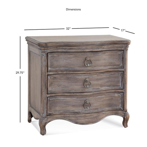 American Woodcrafters Genoa Large Nightstand