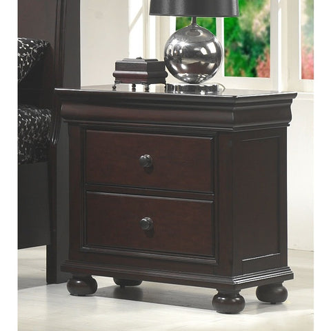 American Woodcrafters Hyde Park 2 Drawer Nightstand