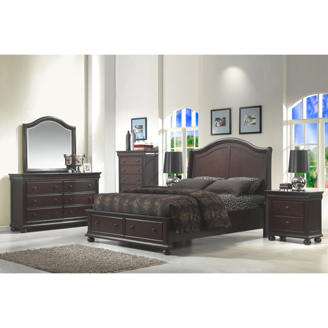 American Woodcrafters Hyde Park 5 Piece Bedroom Set