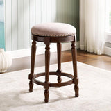 American Woodcrafters Nadine Chocolate Backless Counter Stool