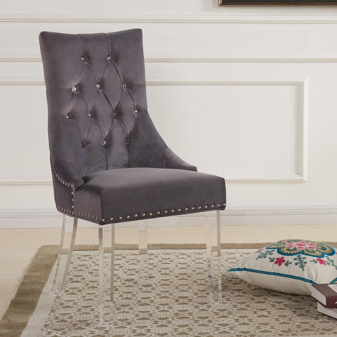 Colby Accent Chair Modern Contemporary Dusk Living Room: Armen Living Gobi Modern & Contemporary Tufted Dining