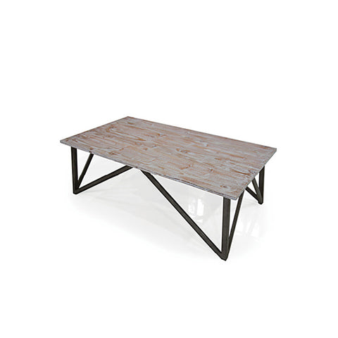 Armen Regis Pine Top Coffee Table