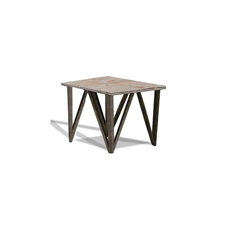 Armen Regis Pine Top End Table