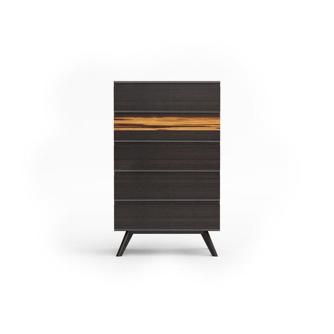 Greenington Azara Five Drawer Chest In Sable