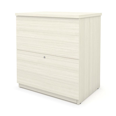 BESTAR Universel 29W Standard Lateral File Cabinet in white chocolate