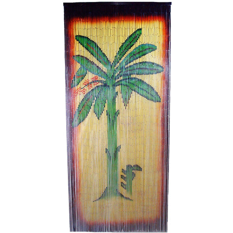Bamboo Banana Tree Scene