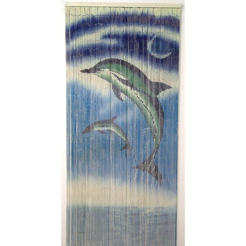 Bamboo Dolphins Scene