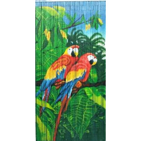 Bamboo Double Parrot Scene