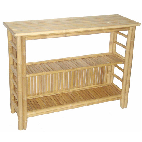 Bamboo Fancy Console Table