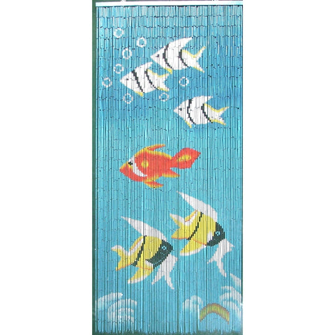 Bamboo Fishes Scene