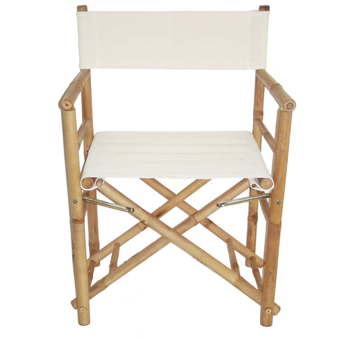 Bamboo Folding Director'S Chair