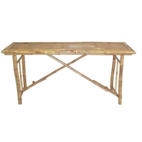 Bamboo Long Folding Table