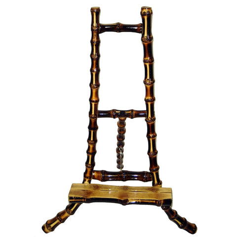 Bamboo Table Top Root Easels, Nat. Or Burnt