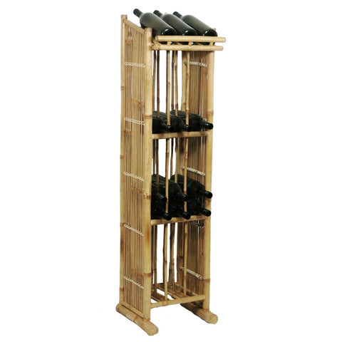Bamboo Wine Tower