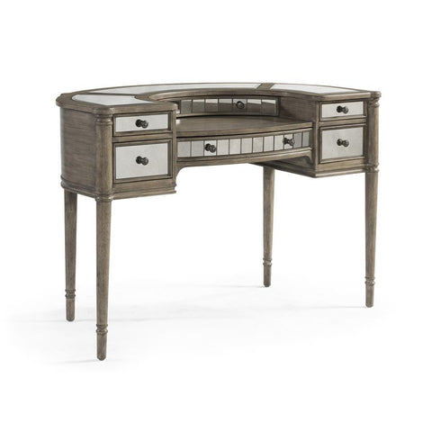 Basset Mirror Abrielle Writing Desk in White Peony Tea