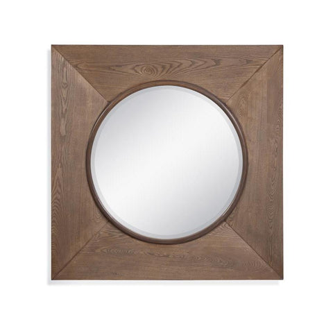 Basset Mirror Ashford Wall Mirror in Natural Wood