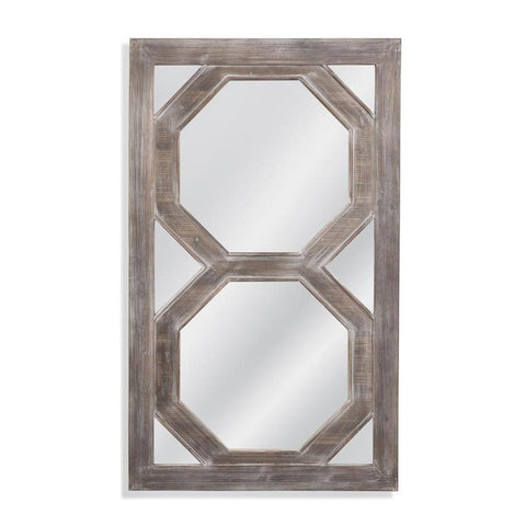 Basset Mirror Barlow Wall Mirror in White Washed