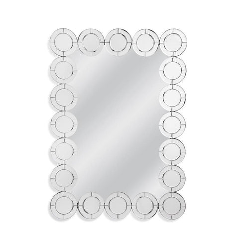 Basset Mirror Gia Wall Mirror in Clear Mirror