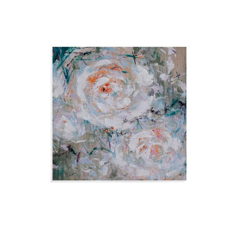Bassett Abstract Flower Garden Canvas Art